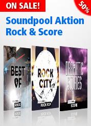 Soundpool Aktion Rock & Score