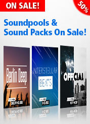 Soundpools & Sound Packs On Sale!