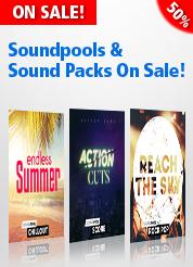 Soundpools & Sound Packs On Sale!